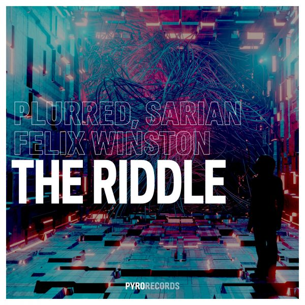 Cover PY326 PLURRED, SARIAN, Felix Winston - The Riddle 3K